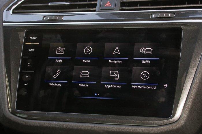 2019 Volkswagen Tiguan 162TSI Highline 5N MY19.5 Four Wheel Drive Black