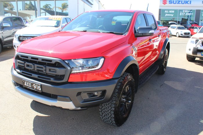 2018 Ford Ranger Raptor PX MkIII MY19 4X4 Dual Range Red