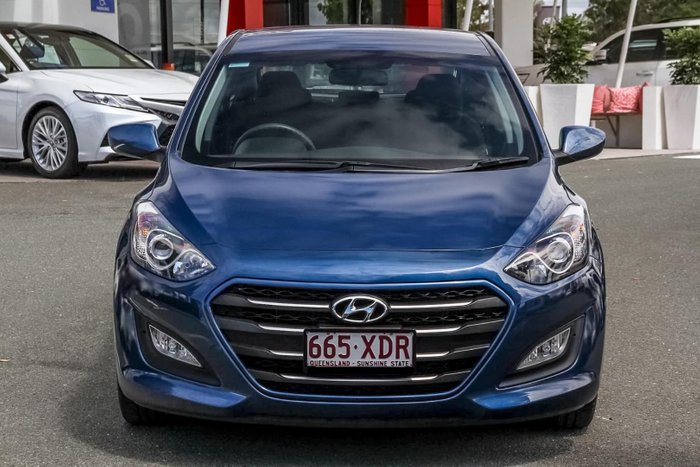 2015 Hyundai i30 Active GD3 Series II MY16 Blue