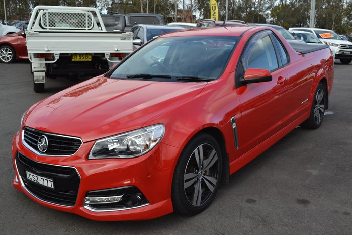 2014 Holden Ute SS Storm VF MY14 Red