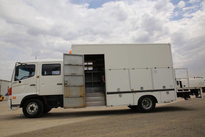 2003 Hino FD 1126-500 Series WHITE