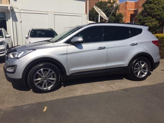 2015 Hyundai Santa Fe Elite DM2 MY15 4X4 On Demand Silver