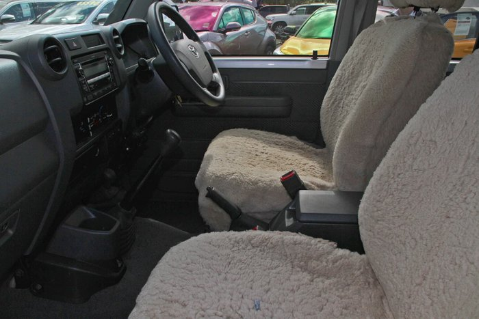 2009 Toyota Landcruiser GXL VDJ76R 4X4 Dual Range Silver