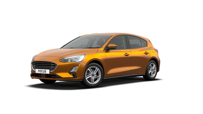 2019 Ford Focus Trend SA MY19.75 Orange Glow