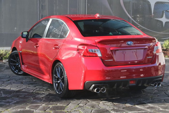 2018 Subaru WRX V1 MY18 Four Wheel Drive Red