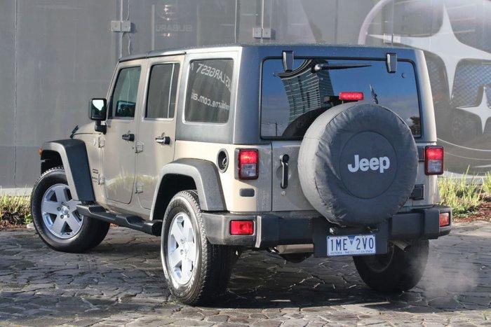 2018 Jeep Wrangler Unlimited Sport JK MY18 4X4 Dual Range Beige