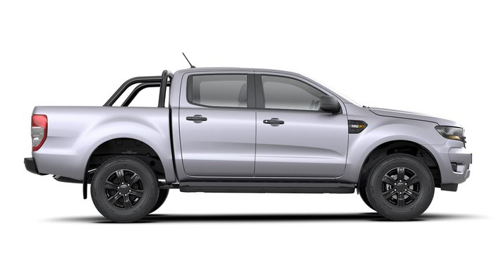2019 Ford Ranger Sport PX MkIII MY19.75 4X4 Dual Range Silver