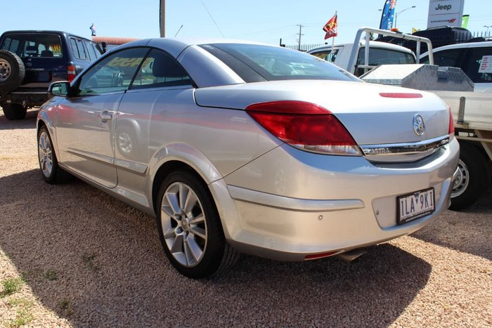 2007 Holden Astra Twin Top AH MY07 Silver