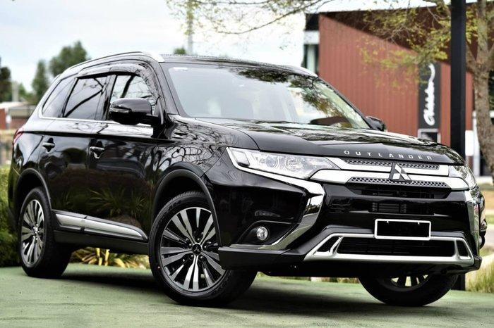 2018 Mitsubishi Outlander LS ZL MY19 4X4 On Demand Black
