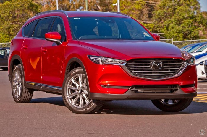 2018 Mazda CX-8 Asaki KG Series 4X4 On Demand Red