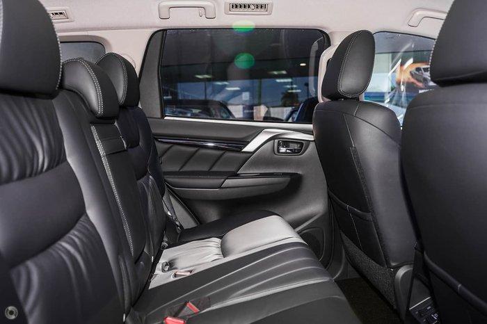 2019 Mitsubishi Pajero Sport Black Edition QE MY19 4X4 Dual Range Grey