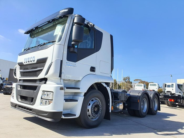 2019 IVECO STRALIS ATI 460 6X4 PRIME MOVER - STOCK CLEARANCE null null White