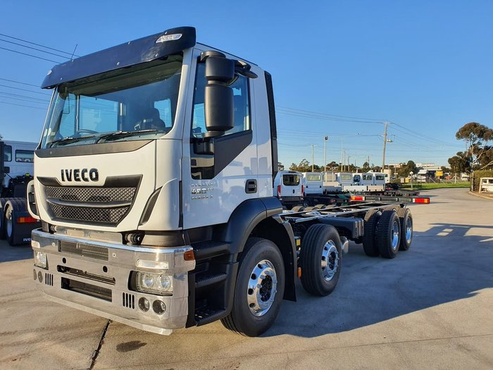 2019 IVECO STRALIS AD 8X4 450HP 16SPD AUTO - STOCK CLEARANCE null null white