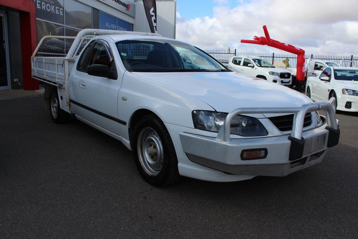 2006 Ford Falcon Ute XL BF Mk II White