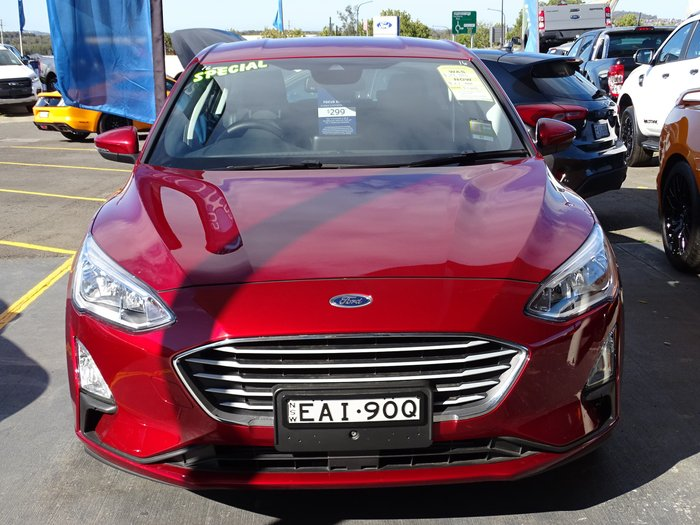 2018 Ford Focus Trend SA MY19 Red