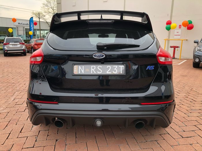 2016 Ford Focus RS LZ Four Wheel Drive Black
