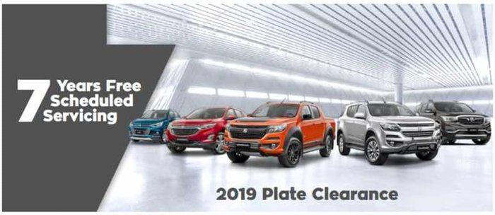 2019 Holden Colorado LS-X RG MY20 4X4 Dual Range Absolute Red