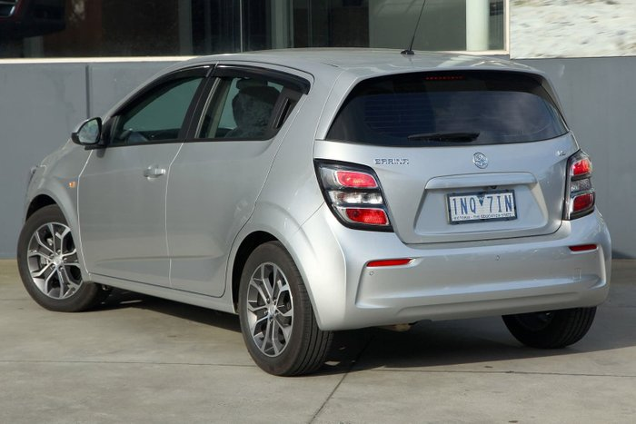 2018 Holden Barina LS TM MY18 Silver