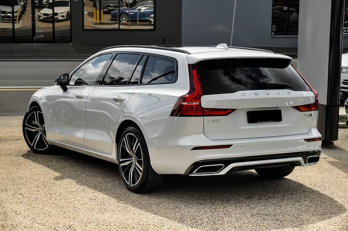 2019 Volvo V60 T5 R-Design MY20 4X4 On Demand White