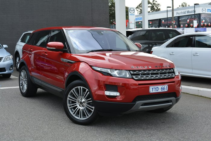 2011 Land Rover Range Rover Evoque SD4 Pure L538 MY12 4X4 Constant Red