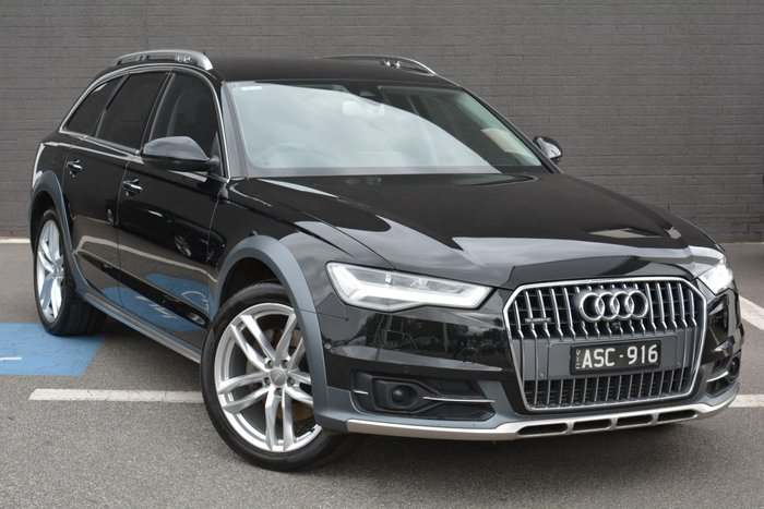 2017 Audi A6 allroad C7 MY17 Four Wheel Drive Black