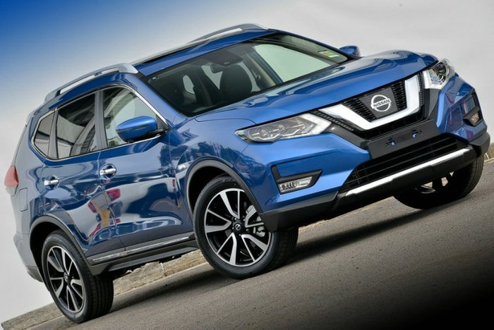 2018 Nissan X-TRAIL Ti T32 Series II 4X4 On Demand MARINE BLUE