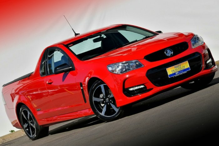 2016 Holden Ute SV6 Black VF Series II MY16 RED HOT