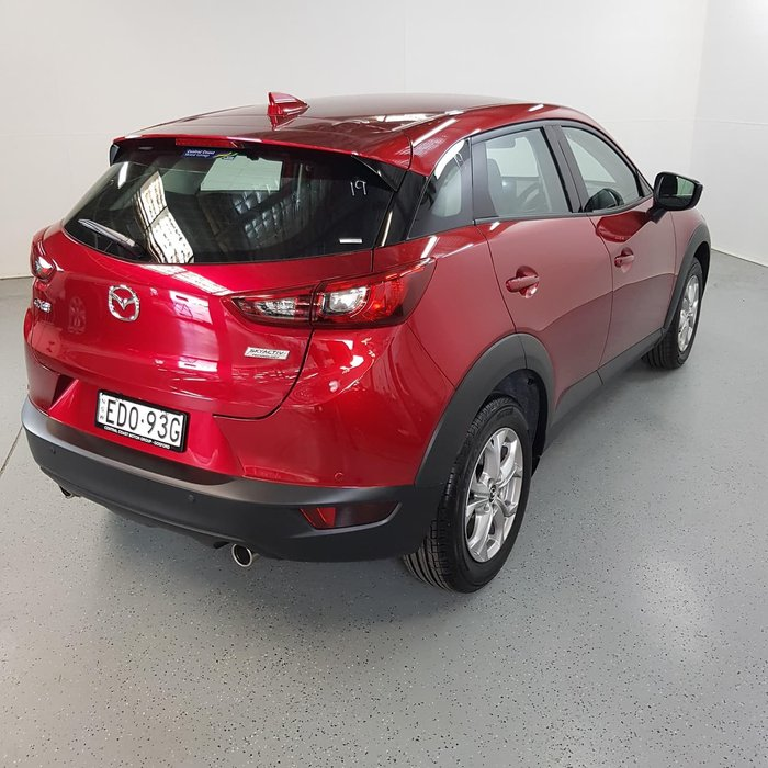 2019 Mazda CX-3 Maxx Sport DK Red
