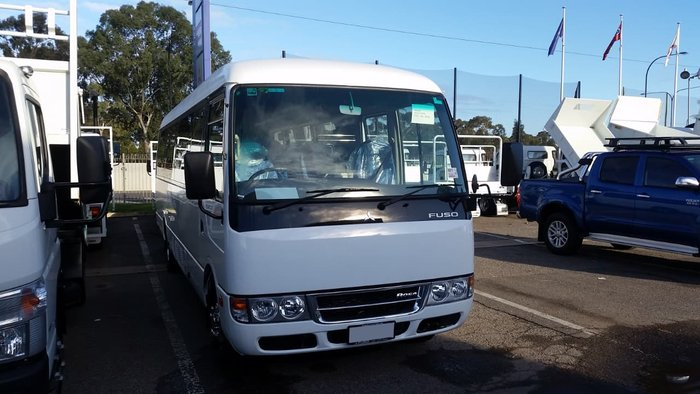 2019 FUSO ROSA DELUXE AUTO 25 SEAT MINI COACH AUST#1 FOR 12 YEARS null null WHITE