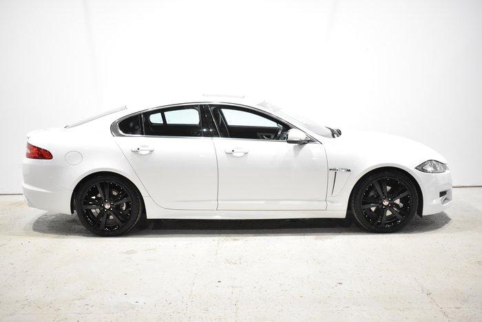 2014 Jaguar XF R-Sport X250 MY15 White