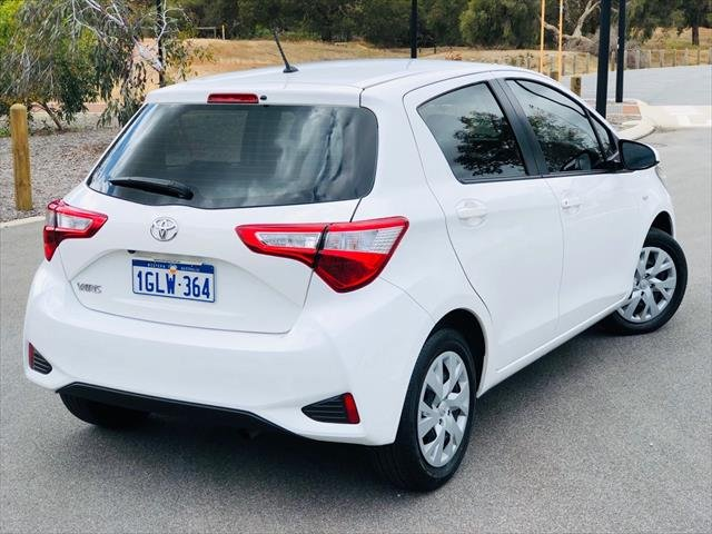 2018 Toyota Yaris Ascent NCP130R WHITE