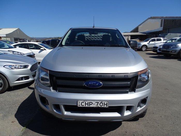 2012 Ford Ranger XL PX 4X4 Dual Range Silver