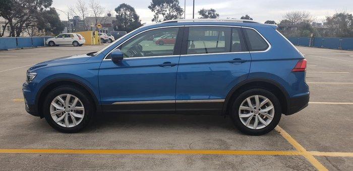 2018 Volkswagen Tiguan 132TSI Comfortline 5N MY19 Four Wheel Drive Blue