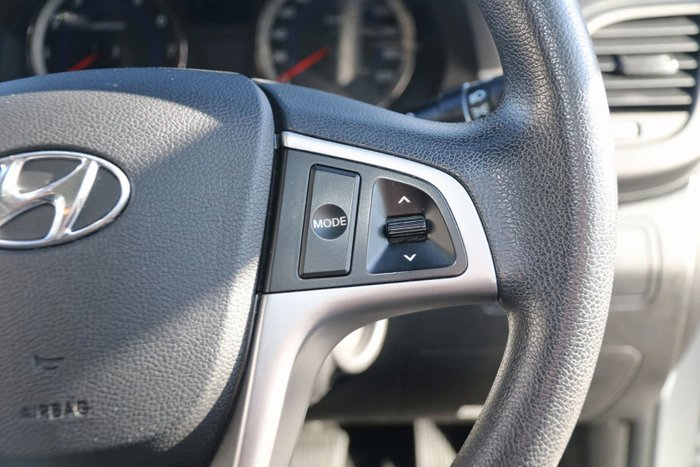 2014 Hyundai Accent Active RB2 Silver