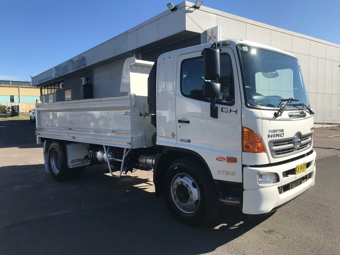 2016 Hino GH 1728-500 Series GH 1728 STEEL TIPPER WHITE