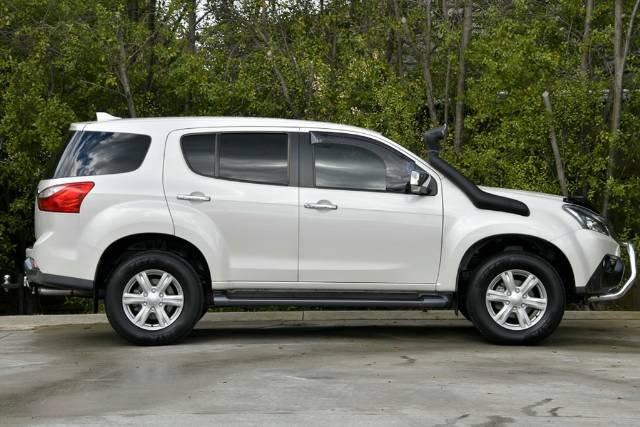 2016 Isuzu MU-X LS-U MY15.5 4X4 Dual Range SILKY WHITE PEARL
