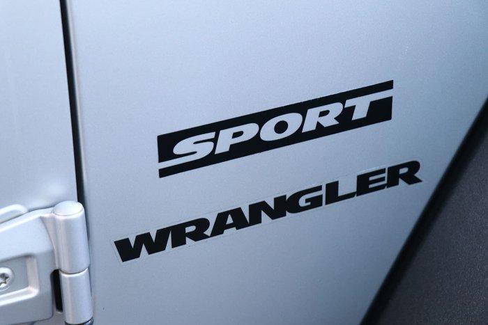 2010 Jeep Wrangler Sport JK MY10 4X4 Silver