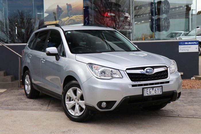 2014 Subaru Forester 2.5i-L S4 MY14 Four Wheel Drive Silver