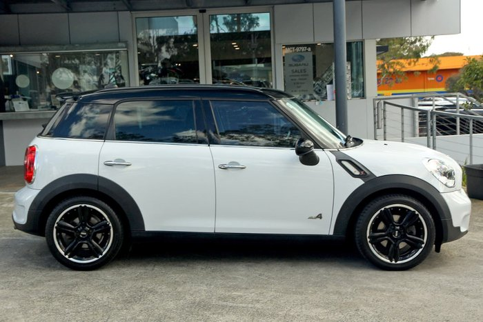 2011 MINI Countryman Cooper SD R60 Four Wheel Drive White