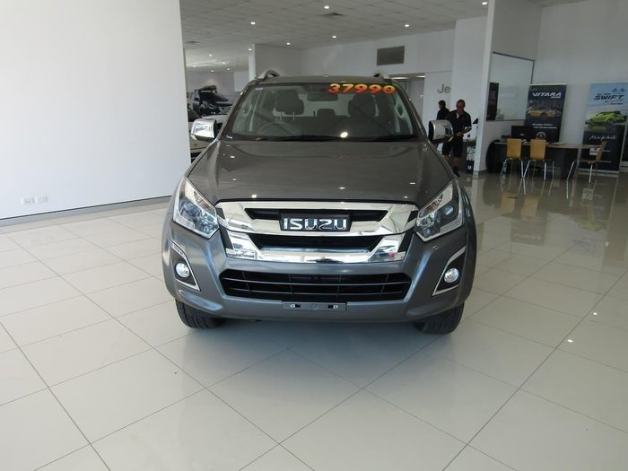 2018 Isuzu D-MAX LS-T High Ride MY18 Graphite Grey