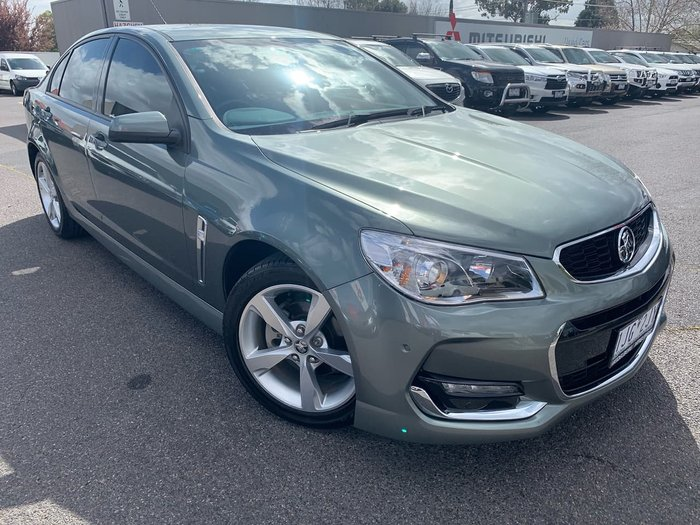 2015 Holden Commodore SV6 VF Series II MY16 Green