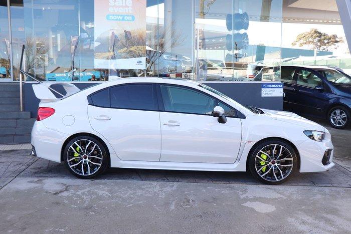 2019 Subaru WRX STI Premium V1 MY20 Four Wheel Drive White