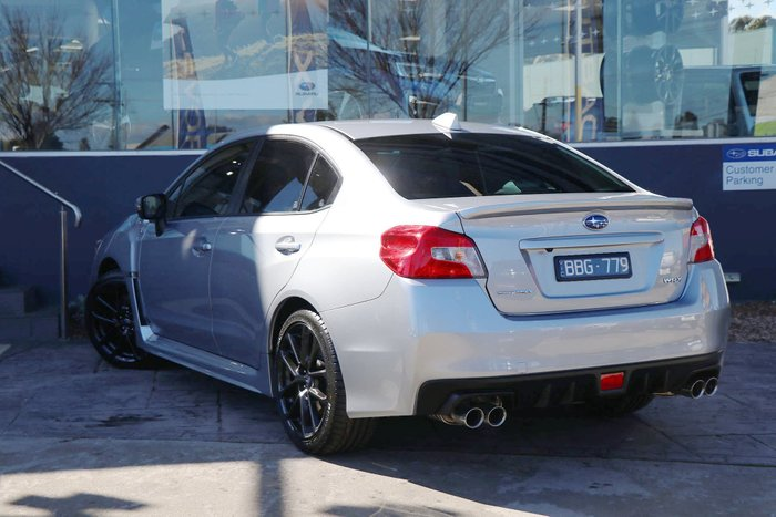 2019 Subaru WRX V1 MY20 Four Wheel Drive Silver