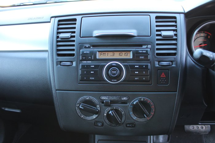 2009 Nissan Tiida ST C11 MY07 Gold