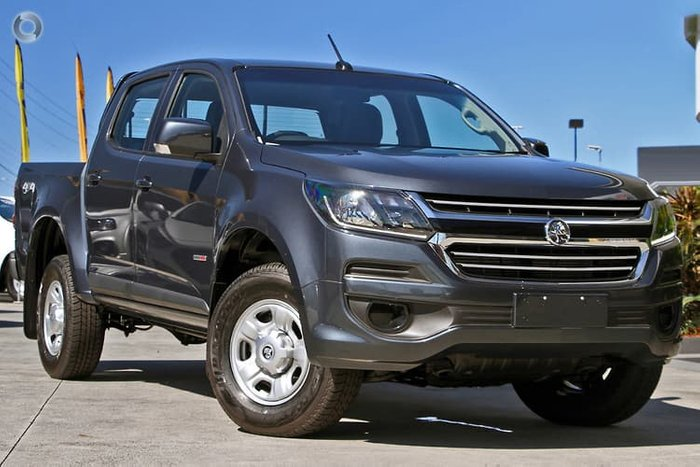 2019 Holden Colorado LS RG MY19 4X4 Dual Range Grey