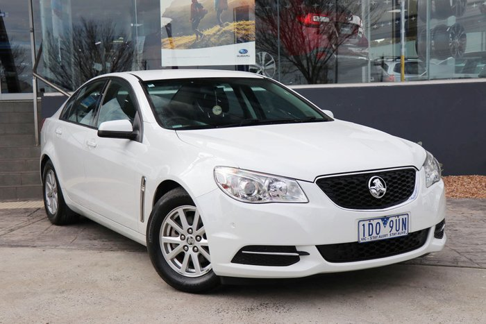 2014 Holden Commodore Evoke VF MY14 White