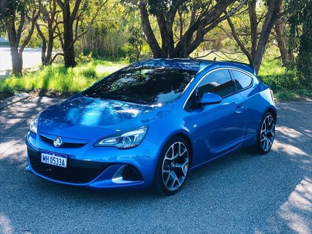 2015 Holden Astra VXR PJ MY15.5 Blue