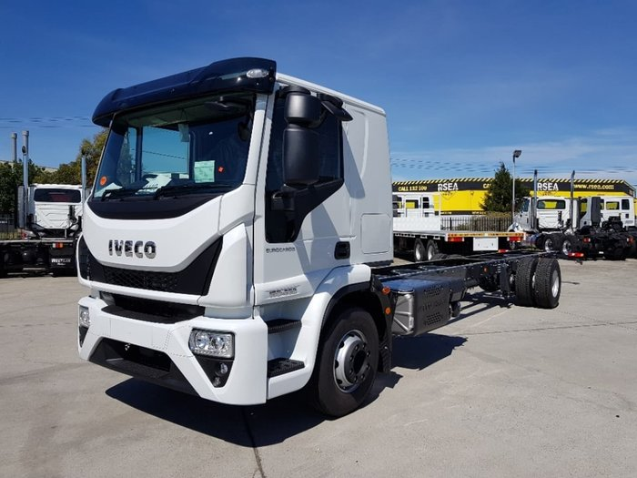 2020 IVECO EUROCARGO ML160E28FP- SLEEPER E6 12 SPEED AMT null null White