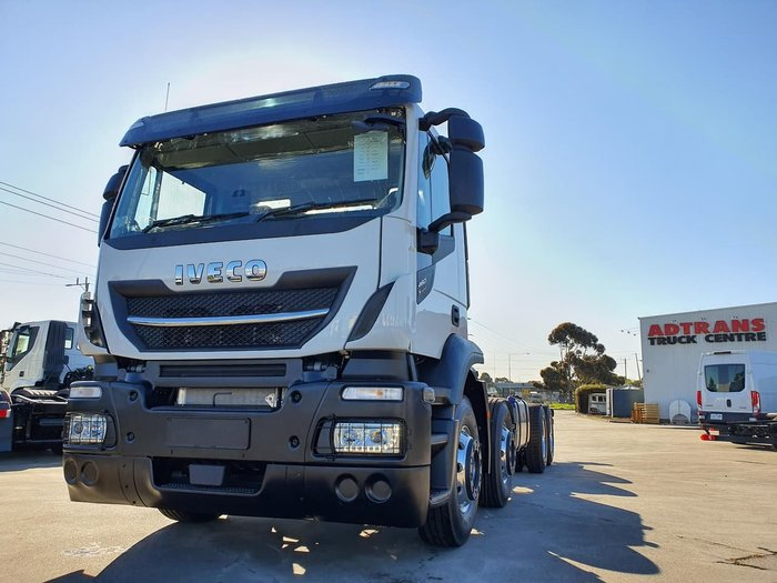 2019 IVECO STRALIS X-WAY AD460 E6 8X4 null null White