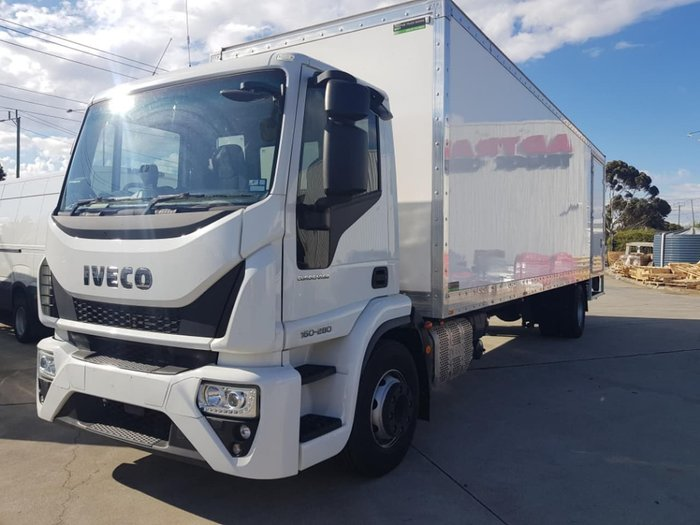 2019 IVECO ML160 E6 PANTECH & TAILGATE LOADER null null White